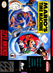 SNES - Mario's Time Machine (front)