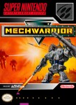 SNES - Mechwarrior (front)