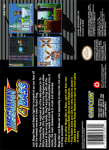 SNES - Mega Man & Bass (back)