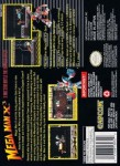 SNES - Mega Man X3 (back)