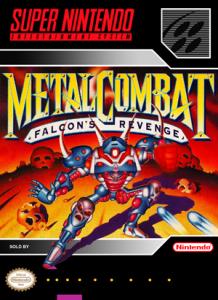 SNES -Metal Combat (front)