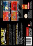SNES - Metal Combat: Falcon's Revenge (back)
