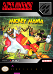 SNES - Mickey Mania: The Timeless Adventures of Mickey Mouse (front)
