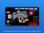 SNES - Mighty Morphin Power Rangers: The Movie Label