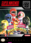 SNES - Mighty Morphin Power Rangers (front)