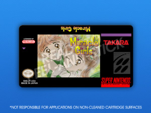 SNES - Miracle Girls Label