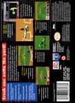 SNES - MLBPA Baseball (back)