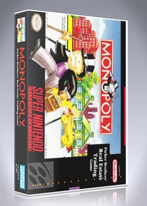 SNES - Monopoly