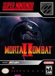 SNES - Mortal Kombat 2 (front)