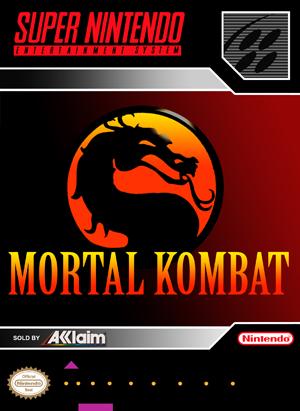 SNES - Mortal Kombat (front)