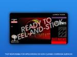 SNES - Mortal Kombat Label