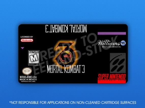 SNES - Mortal Kombat 3