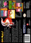 SNES - Mr. Nutz (back)
