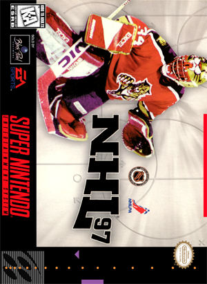 SNES - NHL 97 (front)