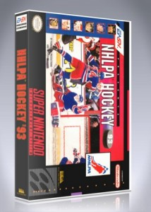 SNES - NHLPA Hockey '93