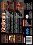 SNES - Nosferatu (back)