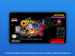 SNES - Oscar Label