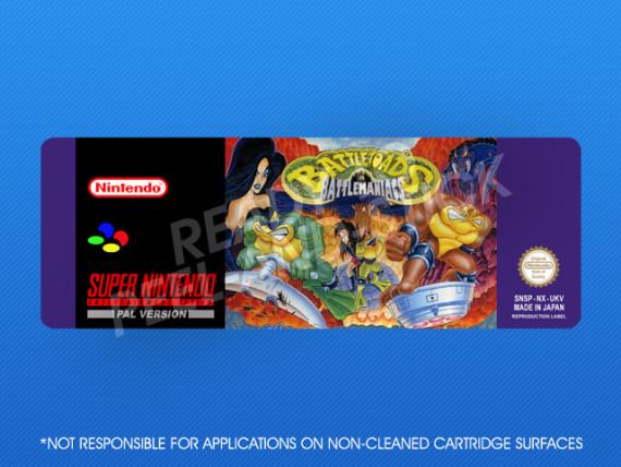 SNES - Battletoads In Battlemaniacs