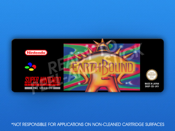 SNES - Earthbound PAL