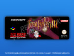 SNES - Final Fantasy III PAL Label