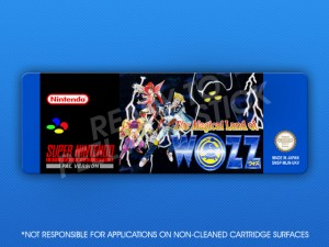SNES - Magical Land of Wozz Label