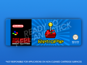 SNES - RetroPie Label
