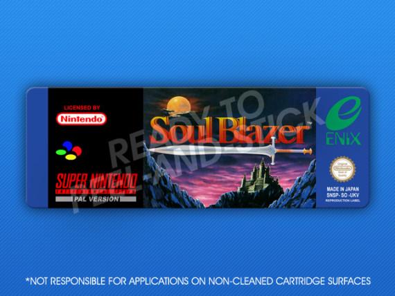 SNES - Soul Blazer