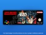 SNES - Super Star Wars Label (PAL)