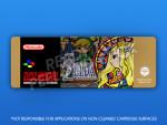 SNES - Legend of Zelda: Goddess of Wisdom PAL Label