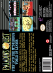SNES - Paladin's Quest (back)