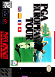 SNES - PGA European Tour (front)