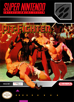 SNES - Pit-Fighter (front)