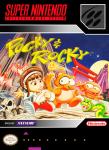 SNES Pocky & Rocky (front)