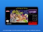 SNES - Pocky & Rocky Label