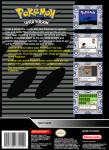 SNES - Pokemon Silver Version (back)