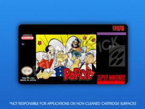 SNES - Popeye