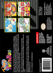 SNES - Pop'n TwinBee (back)
