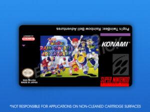 SNES - Pop'n TwinBee: Rainbow Bell Adventures