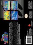 SNES - Pop'n TwinBee: Rainbow Bell Adventures (back)