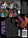 SNES - Populous (back)
