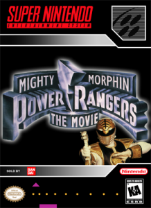 SNES - Power Rangers: The Movie (front)
