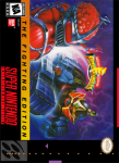 SNES - Mighty Morphin Power Rangers: The Fighting Edition (front)