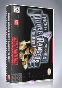 SNES - Mighty Morphin Power Rangers: The Movie