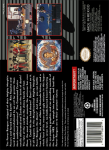 SNES - Mighty Morphin Power Rangers: The Movie (back)