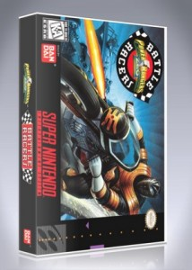 SNES - Power Rangers Zeo: Battle Racers