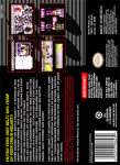 SNES - Power Rangers Zeo: Battle Racers (back)