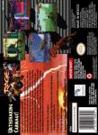 SNES - Primal Rage (back)
