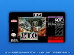 SNES - P.T.O.: Pacific Theater of Operations