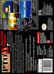 SNES - P.T.O. II (back)