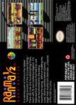 SNES - Ranma 1/2: Hard Battle (back)